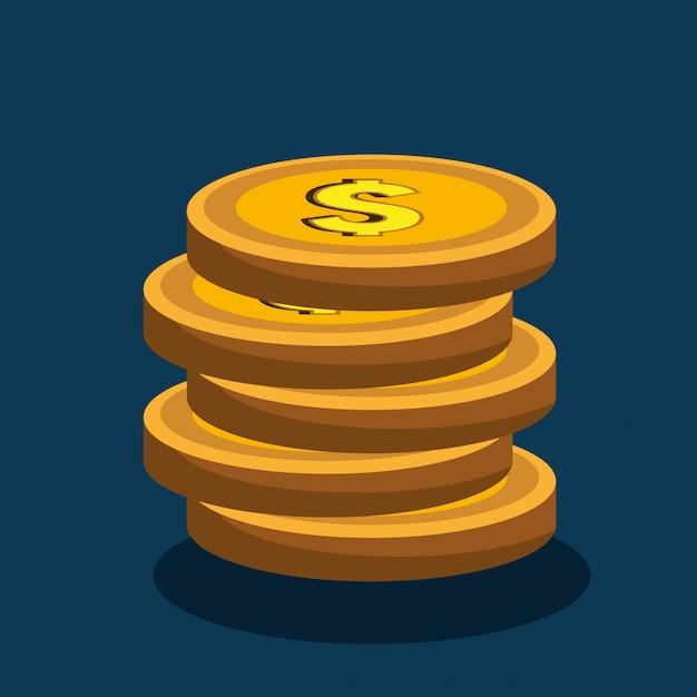 Conceito de dinheiro Vetor grátis