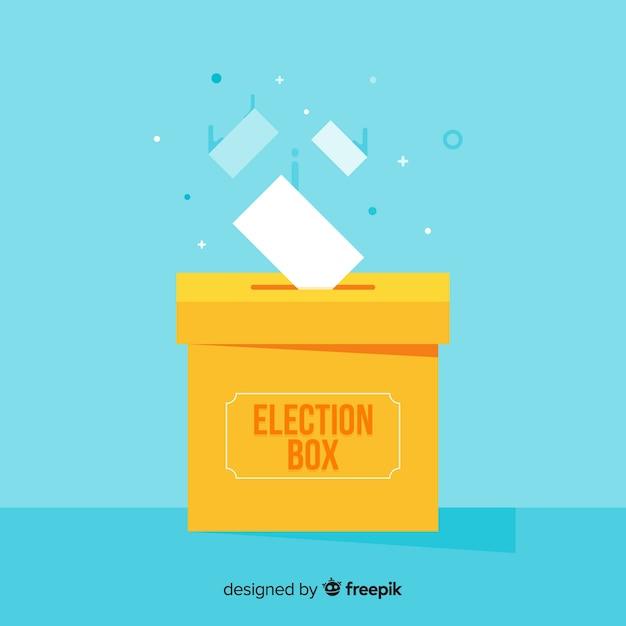Conceito de eleição Vetor grátis