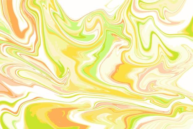Conceito de fundo de mármore ácido Vetor grátis