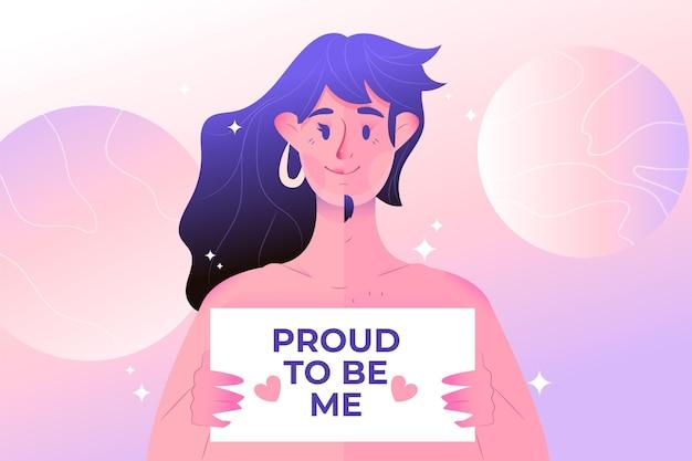 Conceito de identidade de gênero Vetor grátis