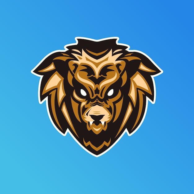 Conceito de logotipo de mascote Vetor Premium