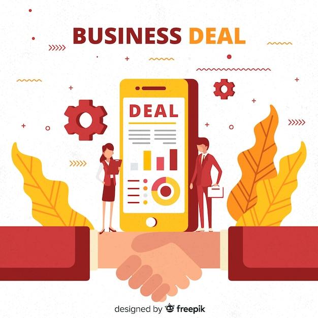 Conceito de negócio de plano de negócios Vetor grátis