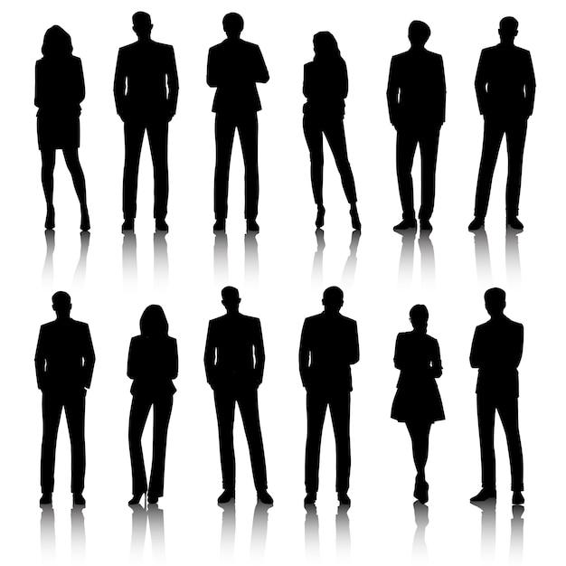 Conceito de pessoas de negócios de ilustração de interface do usuário Vetor grátis