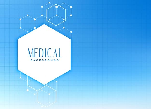Conceito de plano de fundo médico e de saúde Vetor grátis