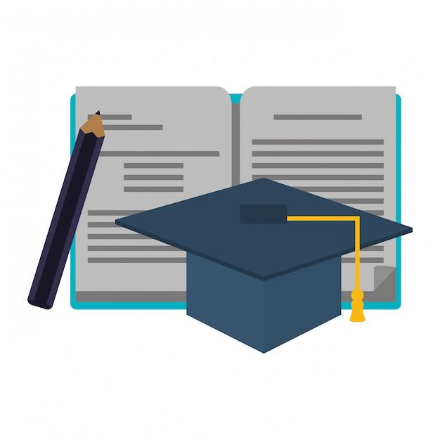 Conceito de suprimentos de educação Vetor Premium