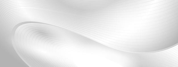 Conceito de tecnologia abstrato cinza Vetor Premium