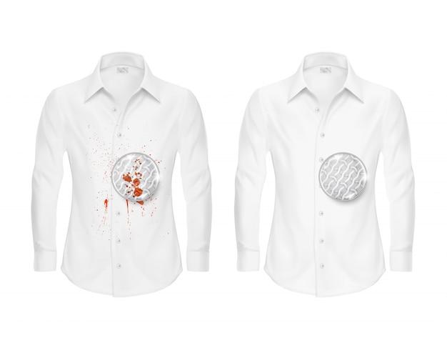 f3faf49320 Conjunto de duas camisas brancas