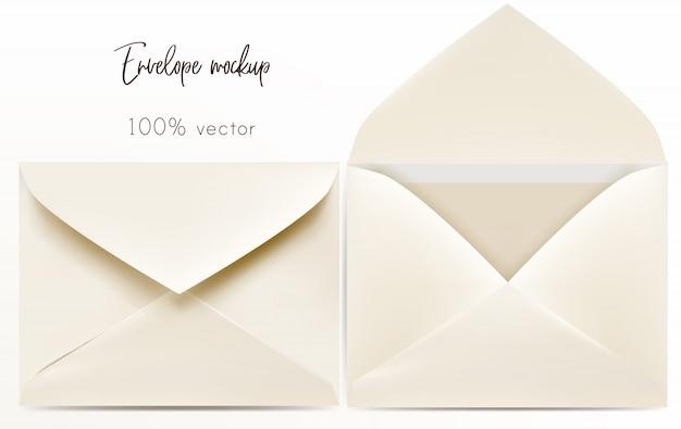 Conjunto de envelope Vetor grátis