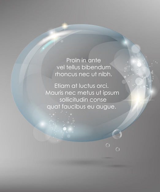 Conjunto de quadro de vidro. ilustração vetorial Vetor Premium