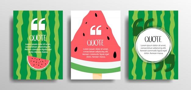 Conjunto de quadros de citação de modelos em branco. texto entre parênteses, cotação de balões de fala em branco, citações. Vetor Premium