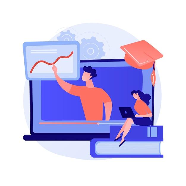 Conselhos sobre computação gráfica e dicas para assistir. masterclass de design digital, curso online, informações úteis. preparação para exame de pintura Vetor grátis