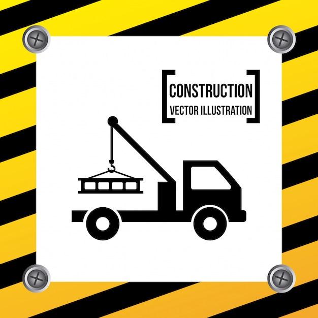 Construção Vetor grátis