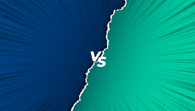 Contra vs fundo de tela em estilo de papel rasgado Vetor grátis