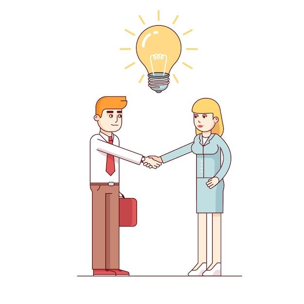 Contratando pessoal talentoso com mente criativa Vetor grátis