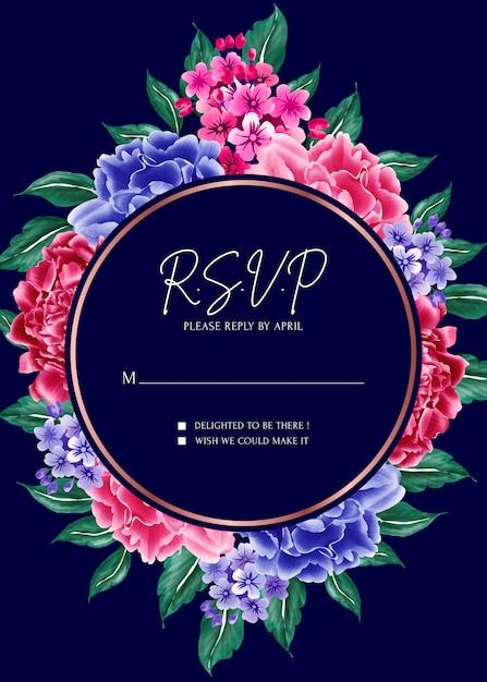 Convite. Vetor Premium