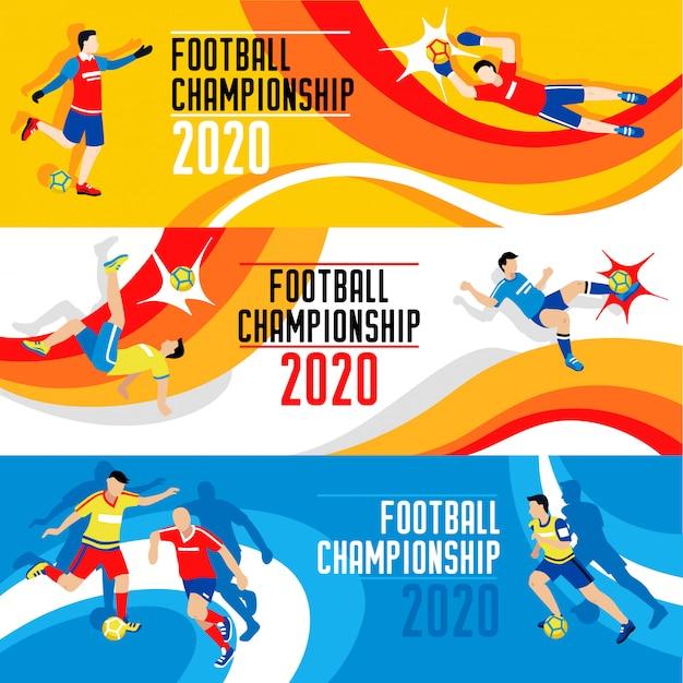 Copa do mundo 2020 Vetor grátis