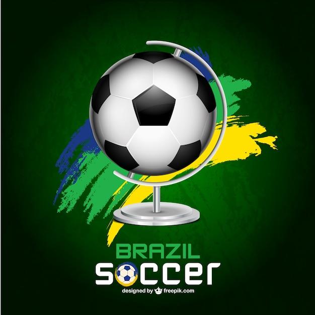 Copa do mundo livre vector Vetor grátis