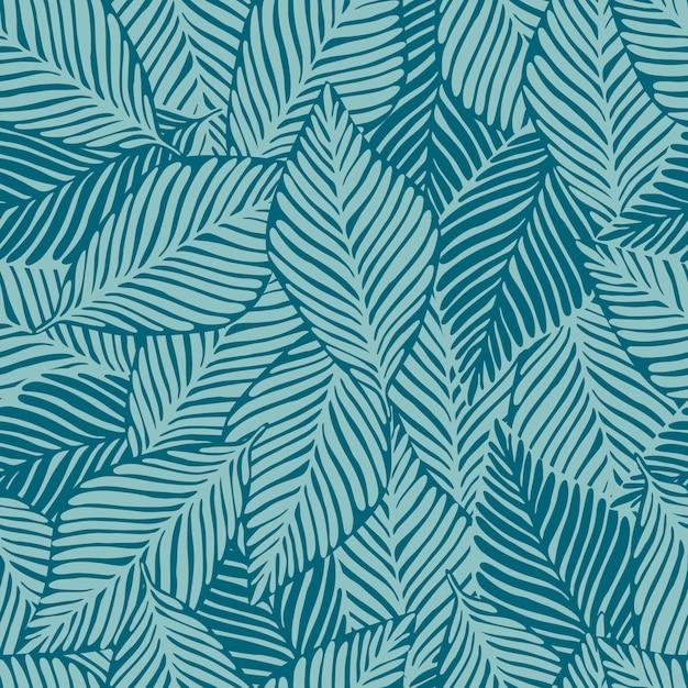 Cópia da selva da natureza do verão Vetor Premium
