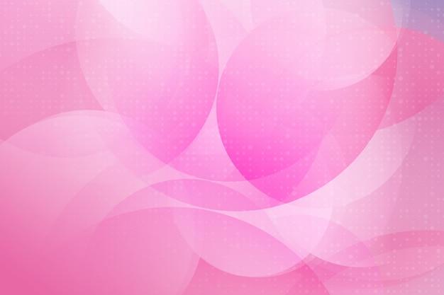 Cor rosa design moderno elemento geométrico vetor abstrato Vetor Premium