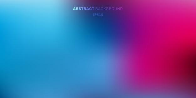 Cor vibrante abstrata turva fundo Vetor Premium