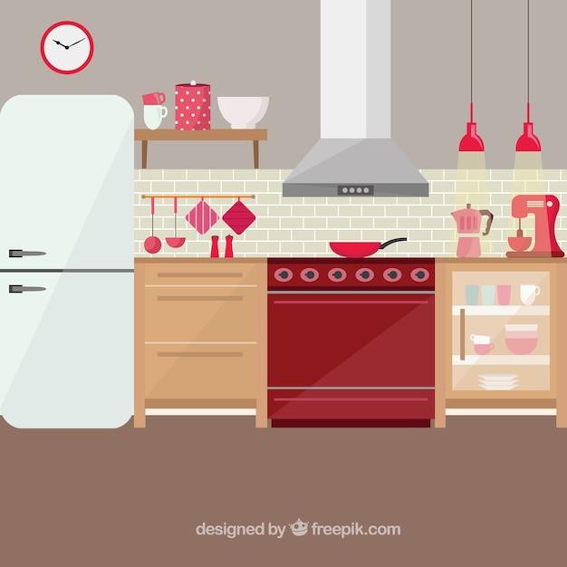 Kitchen Set Clipart