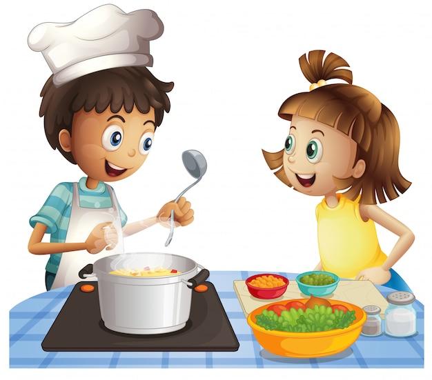 Cozinhando Vetor grátis
