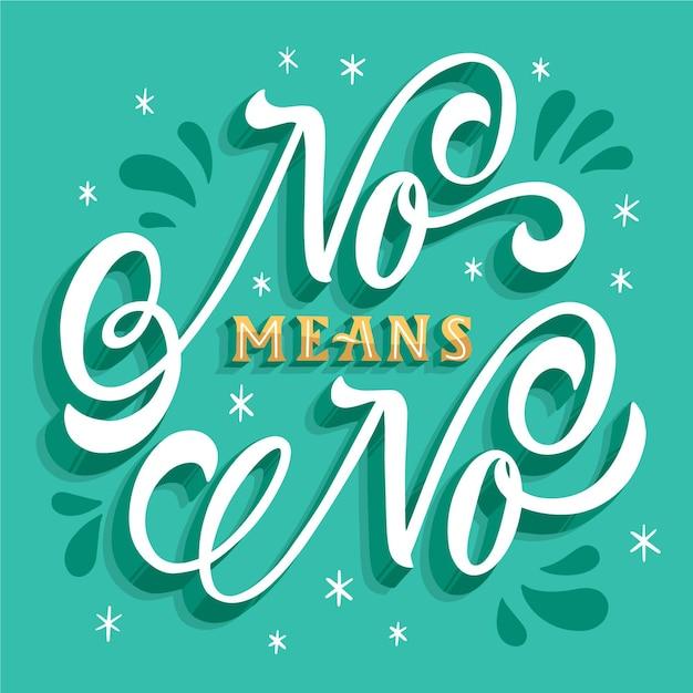 Criativo não significa que não há letras Vetor grátis