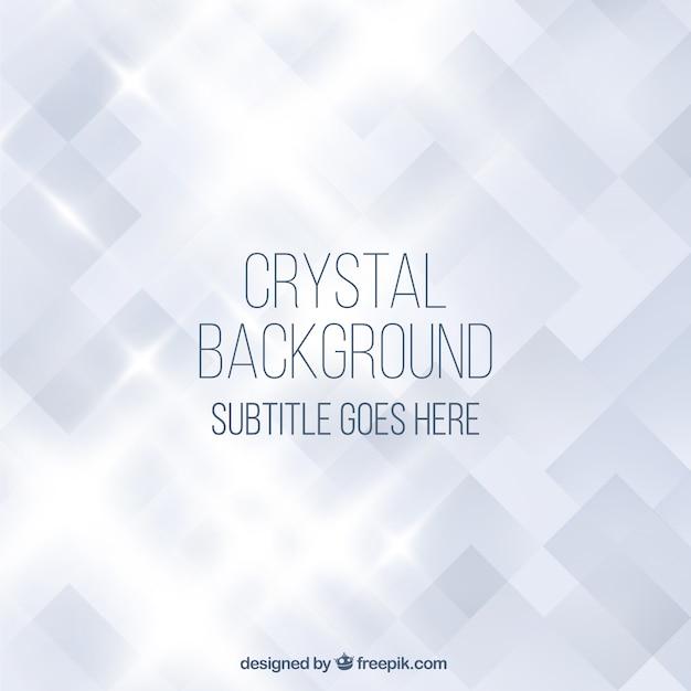 Cristal fundo Vetor Premium