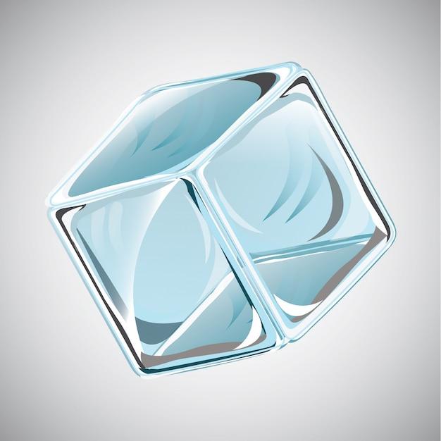 Cubo de gelo Vetor grátis