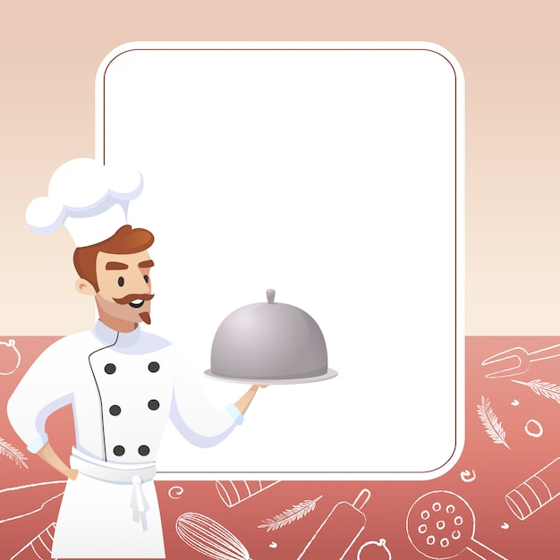 Culinary concept illustration negócio de restaurante Vetor grátis