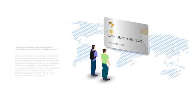 Dados de análise e investimento. dados de análise no laptop isométrico. estatísticas e dados online analytics. mercado monetário digital, investimento, finanças e negociação. Vetor Premium