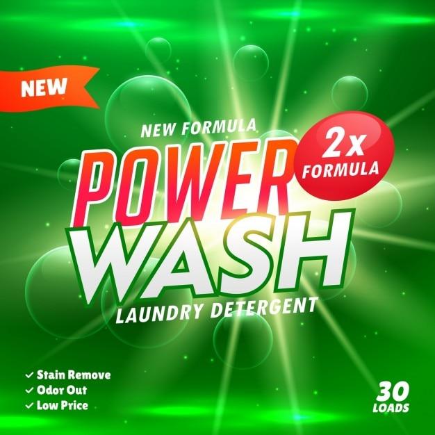 De limpeza banheiro e modelo de concepção de produto detergente Vetor grátis
