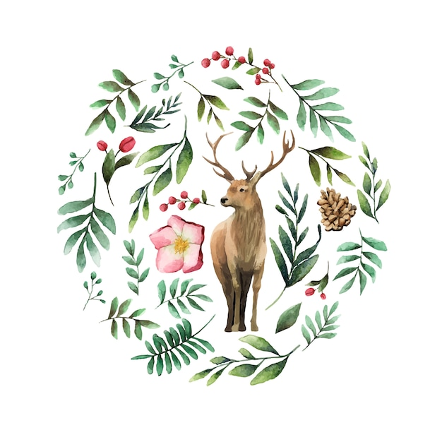 Deer Vetor grátis