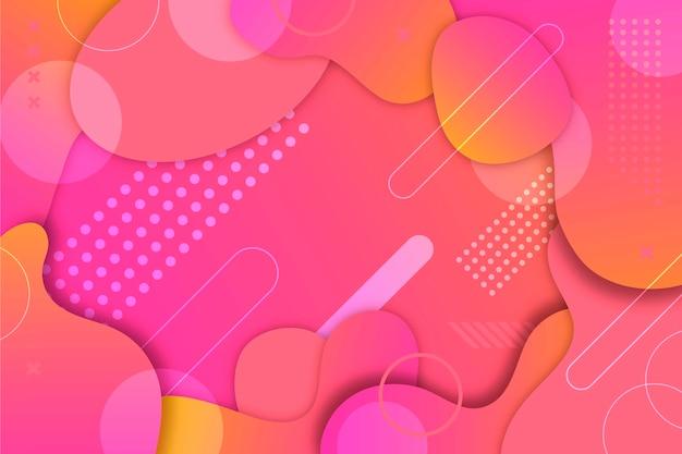 Desenho abstrato colorido Vetor grátis