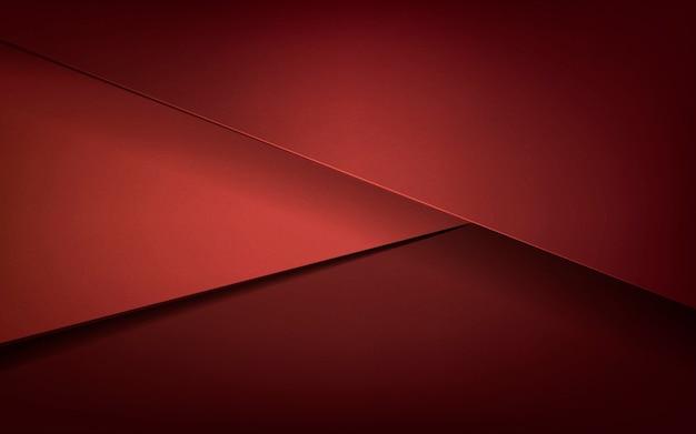 Desenho abstrato em vermelho escuro Vetor grátis