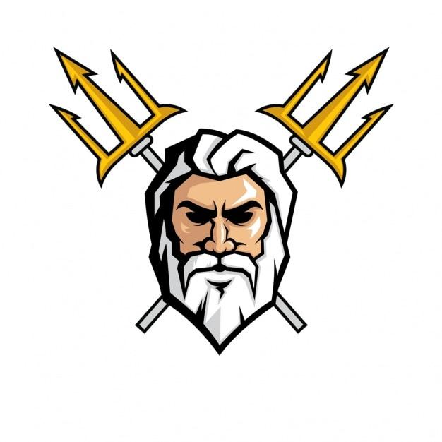 Super Desenho da face Zeus | Baixar vetores grátis UO13
