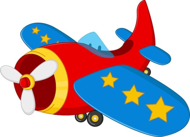 Desenho De Aviao Vetor Premium