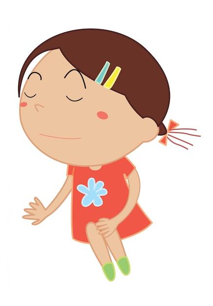Desenho de criança simples Vetor grátis