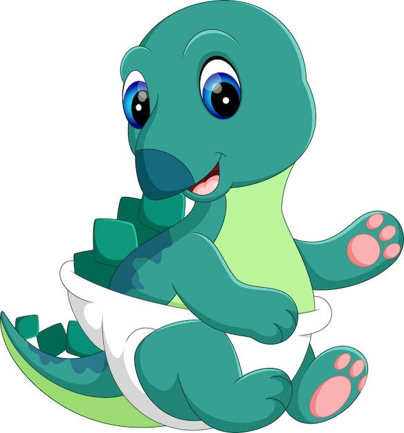 Desenho De Dinossauro De Bebê