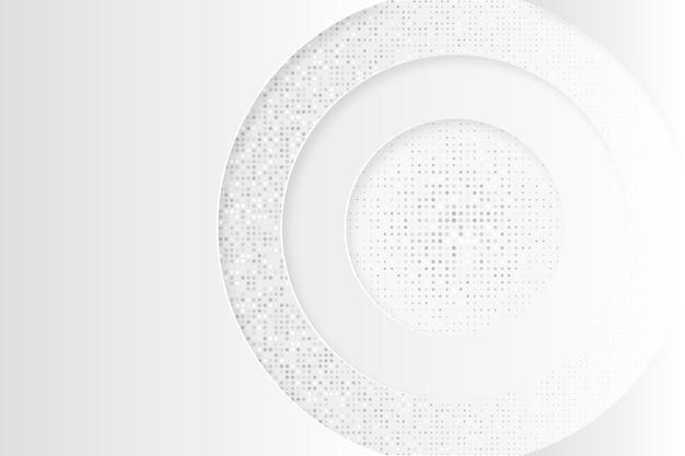 Desenho de fundo abstrato branco Vetor Premium