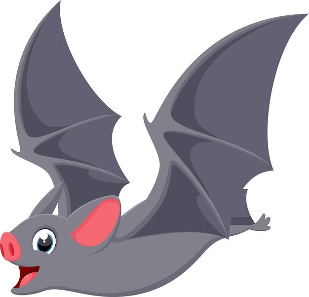 desenho de morcego voador feliz baixar vetores premium