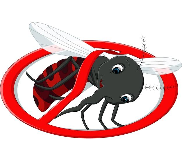 Desenho de mosquito Vetor Premium