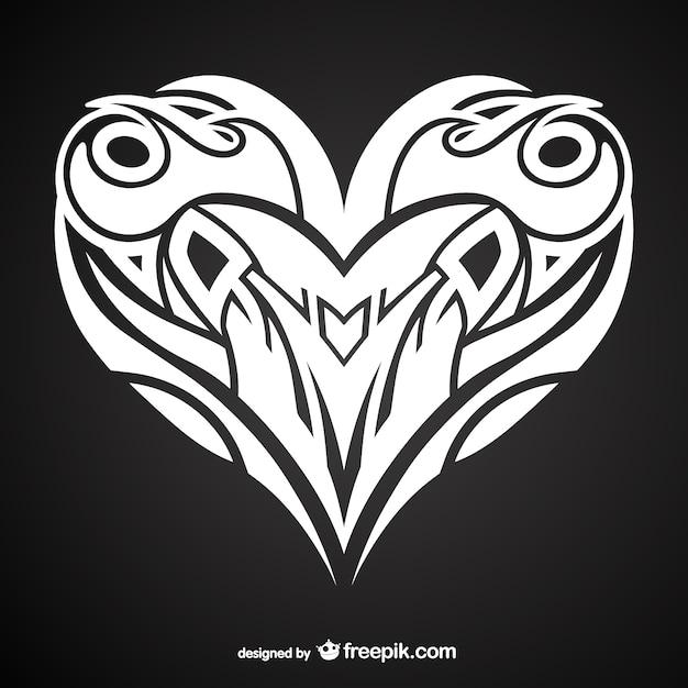 Desenho De Tatuagem Coração