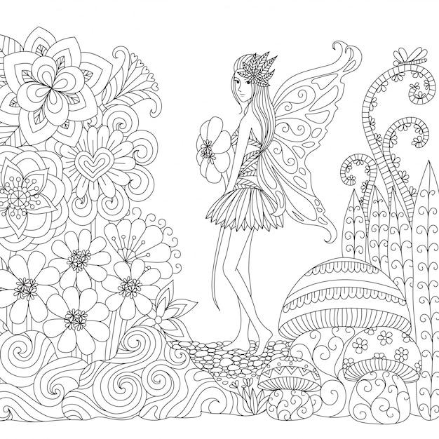 Desenho Para Colorir Baixe Vetores Fotos E Arquivos Psd Gratis