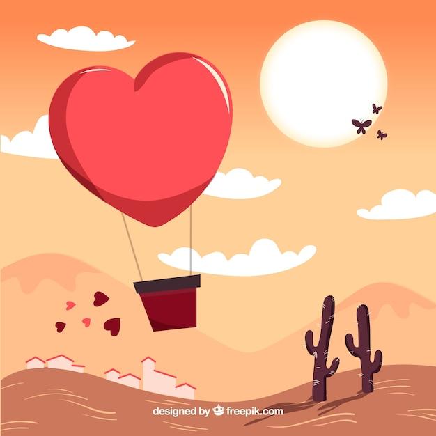 Desenho Desenhado Do Dia Dos Namorados Vetor Gratis