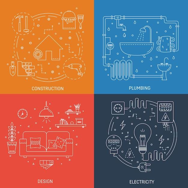 Desenhos Coloridos De Profissões