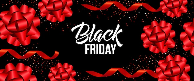 Design de banner de sexta-feira negra Vetor grátis