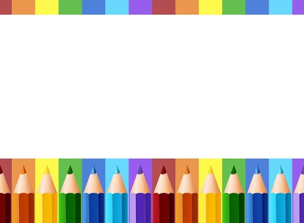 design de borda com l u00e1pis de cor baixar vetores premium pencil clipart svg pencil clipart svg
