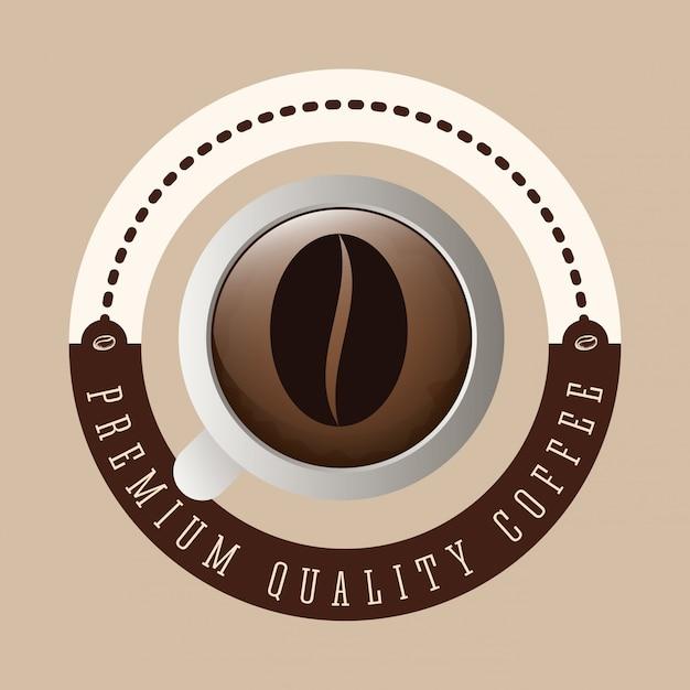 Design de café Vetor Premium