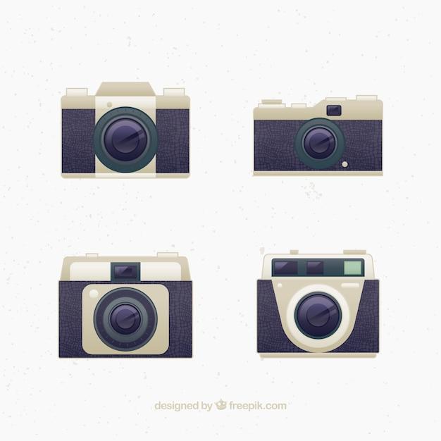 Design de c meras do vintage baixar vetores gr tis for Camera blueprint maker gratuito